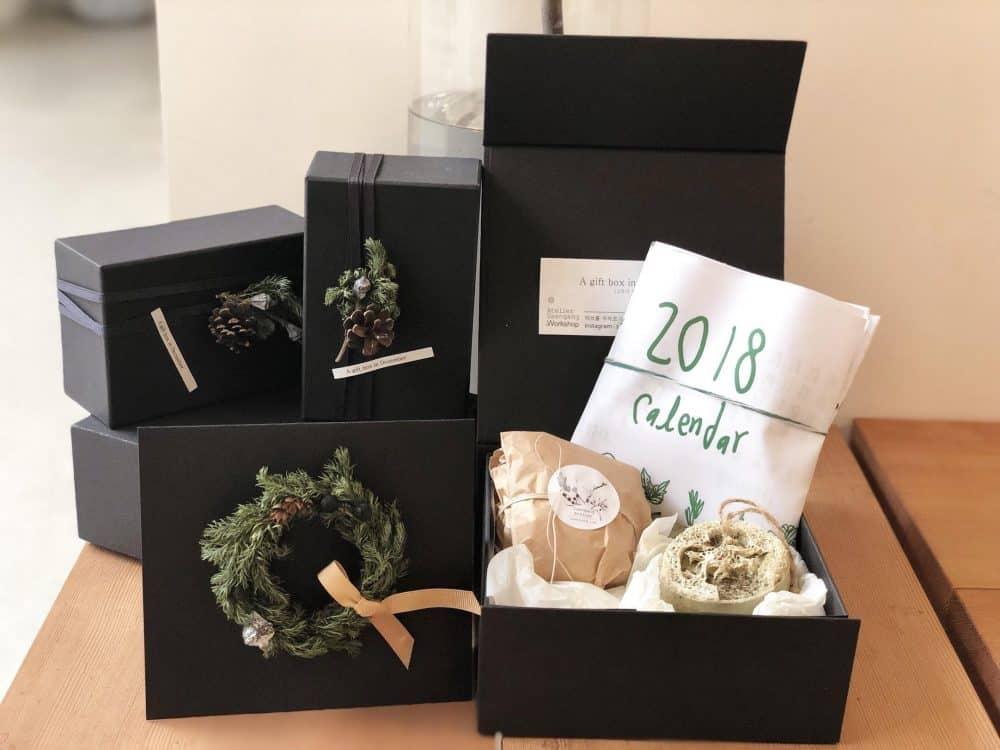 [아뜰리에 생강]  12월의 선물상자 (A Gift Box Of December)