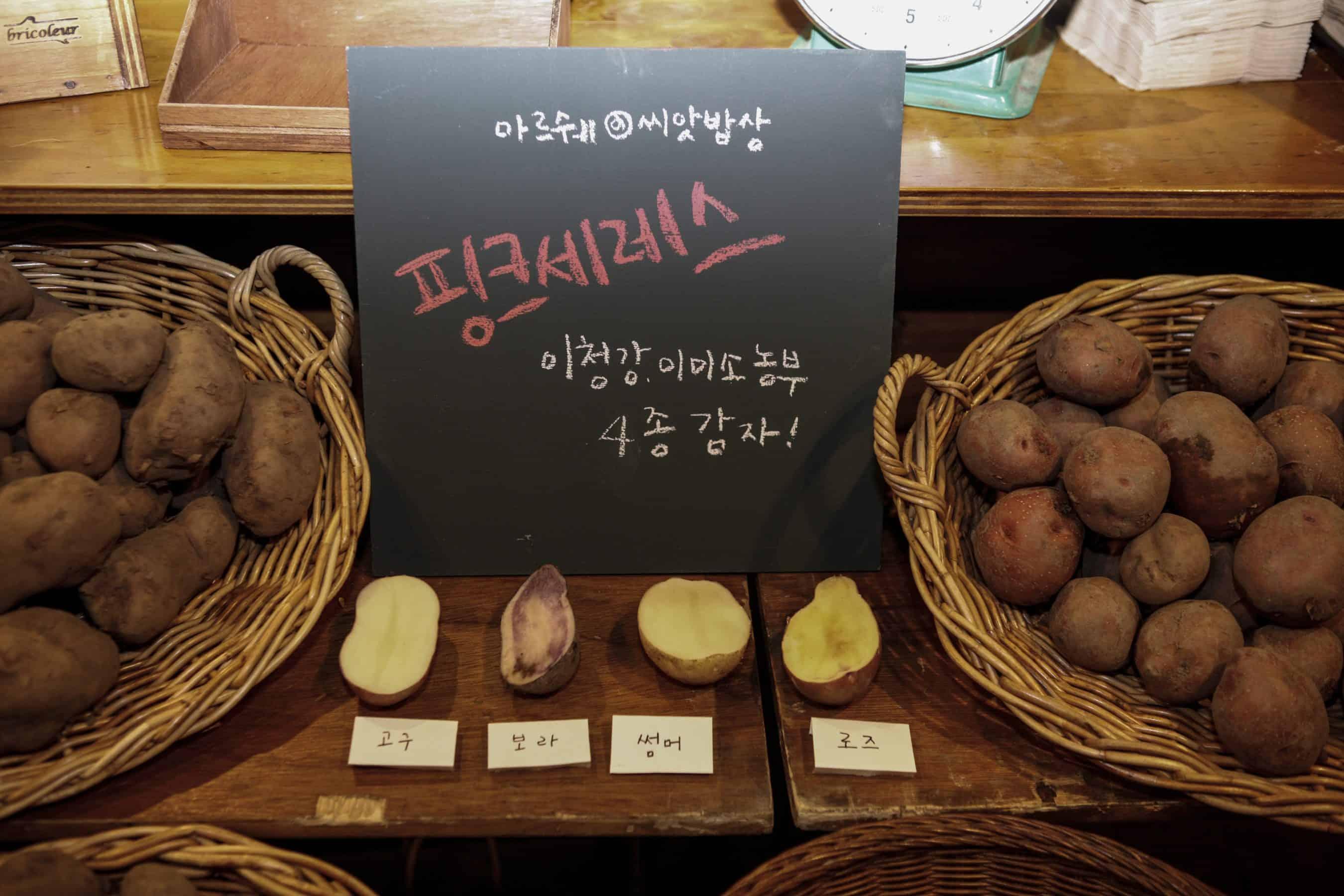 [리뷰]다양한 품종의 감자를 맛보는 씨앗밥상 '감자'