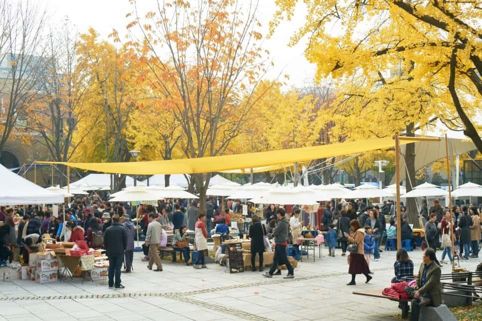 이 땅의 다채로운 맛에 감사하며, 11월 11일 마르쉐@혜화