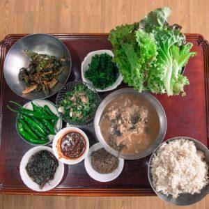 시장에서 맛보는 책 한 그릇 Vol.3 김신효정의  봄을 그려내는 토종씨앗밥상